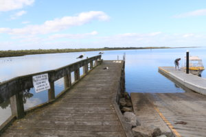 Jetty at Blind Bight, Westernport Bay, Victoria