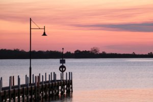 Lake King Sunset, Metung, Gippsland Lakes, Victoria
