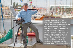 Shayne Thomson, Co-Producer and cameraman for Boating Downunder Productions.