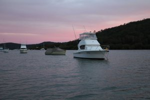 Sunset over Sandbrook Inlet, Hawkesbury River, NSW