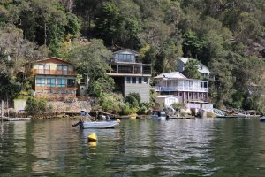 Hawkesbury River houses