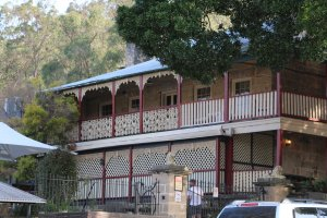 Historical hotel at Wisemans Ferry, NSW