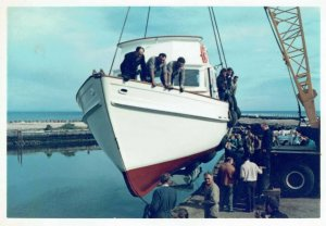 Patricia Anne launching